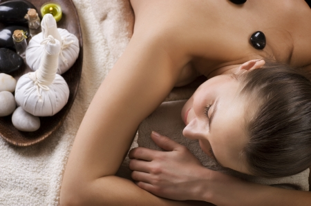 day spa: Spa Woman Stock Photo