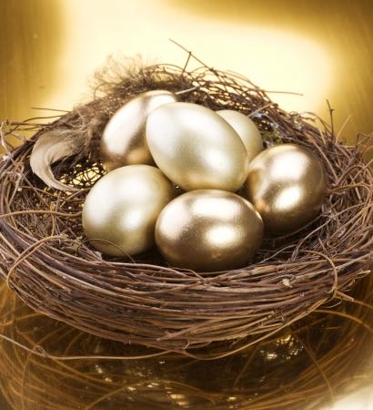 Gouden Nest eieren