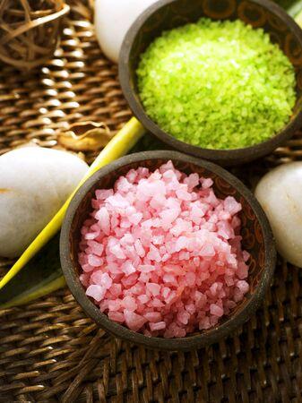 Scented Spa Sea Salt Closeup