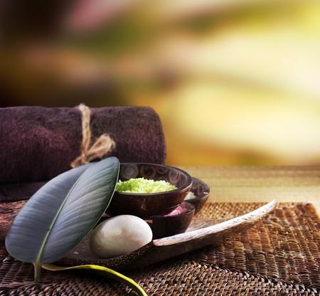peluqueria y spa: Tratamientos de spa Foto de archivo