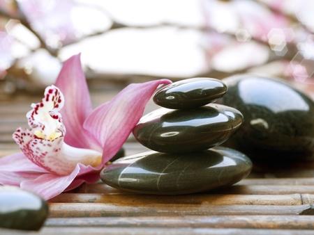 stack stones: Spa Stones