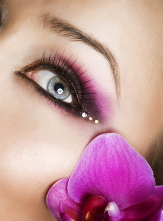 Beautiful Eye Makeup Stock Photo - 9369224