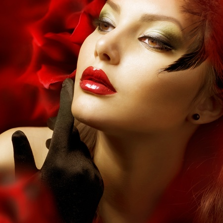 Luxury Woman portrait Stock Photo - 9504710