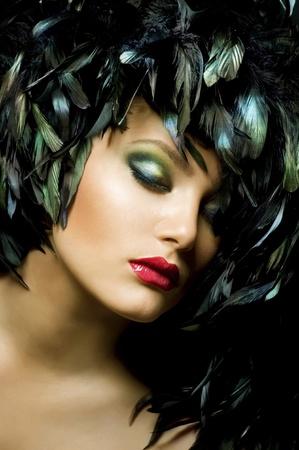 Fashion Art Portrait photo