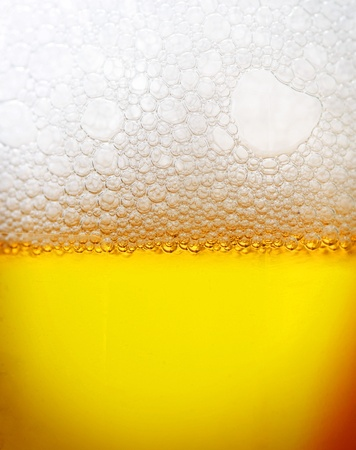 Beer closeup photo