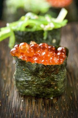 caviar: Sushi