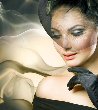 veils: romantic beauty portrait