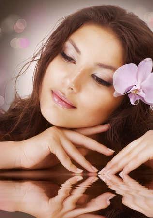 Beautiful Spa Woman Stock Photo - 9722623