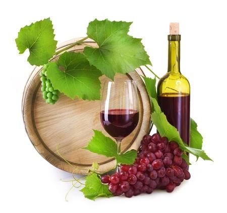 bebiendo vino: Vino Foto de archivo