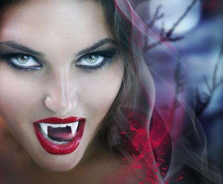 horrors: Vampire Stock Photo