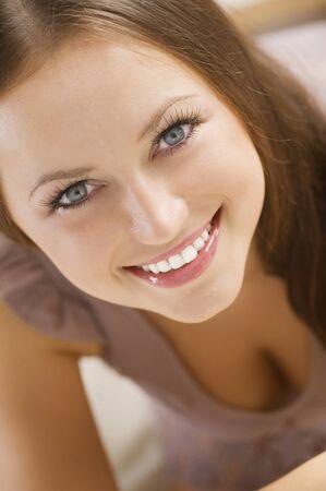 Beautiful Young Woman Portrait Stock Photo - 10081332