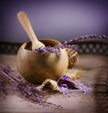 bath salt: Lavender Spa. Natural Organic Cosmetics