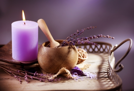 Lavender Spa. Natural Organic Cosmetics