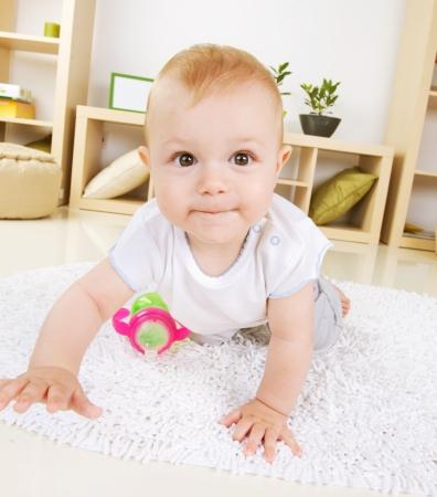 baby room: Crawling Baby boy
