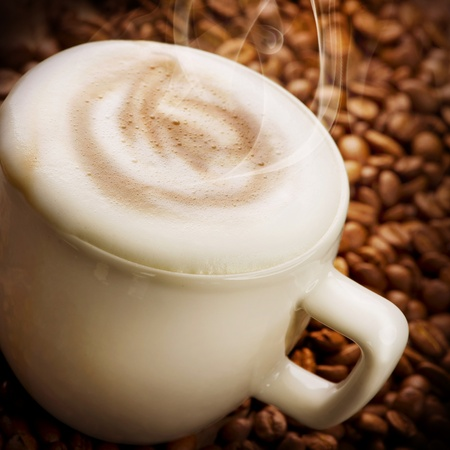capuchino: Café capuchino o Latte