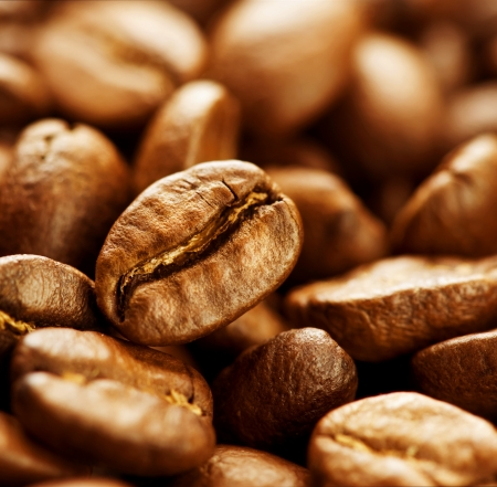 Coffee beans background  Stock Photo - 10689006