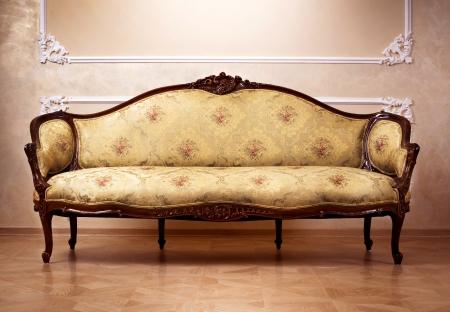 muebles antiguos: Lujo interior. Muebles tallados
