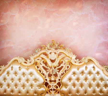 luxurious background: Luxury Interior detail  Stock Photo