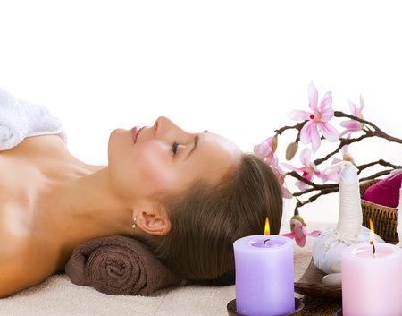 Spa Woman  Stock Photo - 10996529