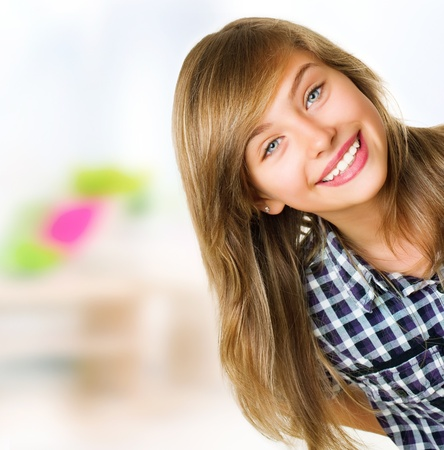 Teenage Girl Portrait  Stock Photo - 10996541