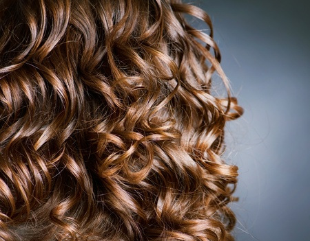 Curly Hair. Hairdressing  photo