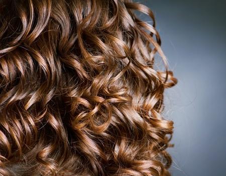 curly hair: Curly Hair. Hairdressing