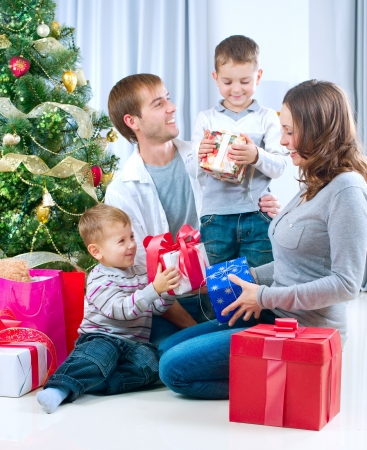 Christmas family  Stock Photo - 11329977