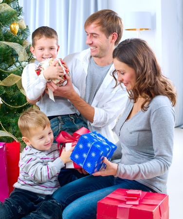 Christmas family  Stock Photo - 11329971