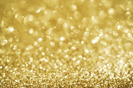 glint: Christmas Glittering background. Holiday Gold abstract texture