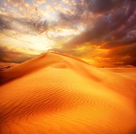 extreme heat: Desert