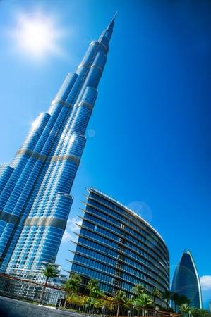 lighted: Dubai