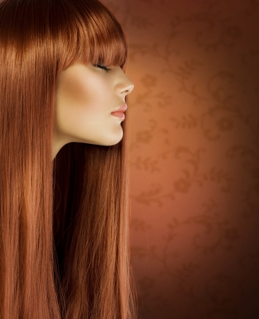 Healthy long Hair  photo