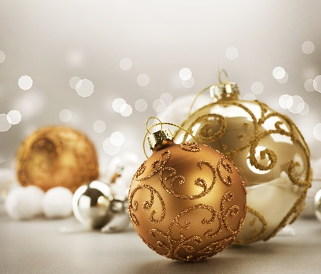 Christmas Vintage Decoration Stock Photo - 11559896