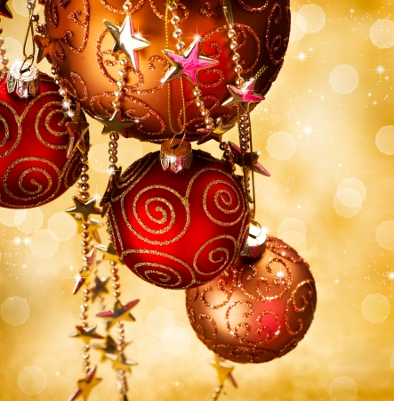 Christmas and New Year border Design Stock Photo - 11559915