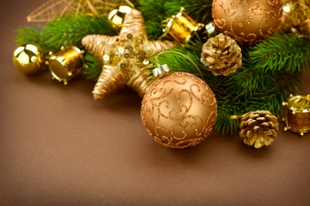 Christmas Vintage Decorations Stock Photo - 11559917
