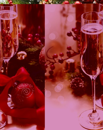 New Year Celebration. Champagne Stock Photo - 11753180