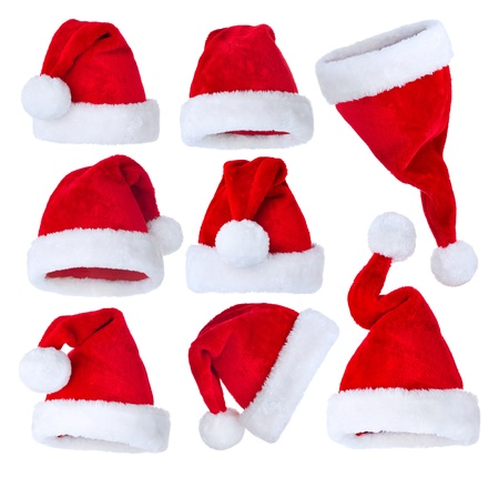 headwear: Santa Hat