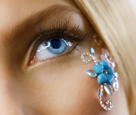 Creative Floral Makeup  photo