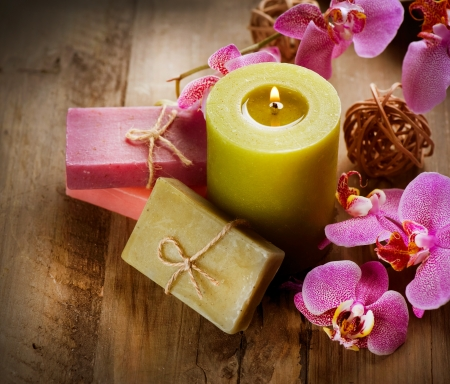 Spa Handmade Natural Soap  Stock Photo - 12040178