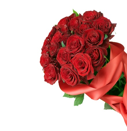 Big Red Roses Bouquet  photo
