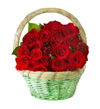 tige: Roses dans le panier