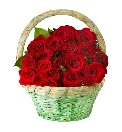 rose bouquet: Roses in the Basket
