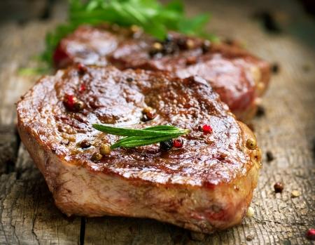 vlees: Gegrilde Steak