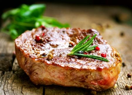 Steak de boeuf Banque d'images