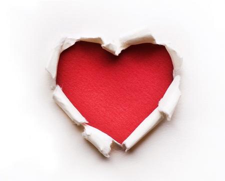 the hole: Valentine Heart Card Design