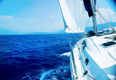 sail boats: Yacht Sailing. Sailboat