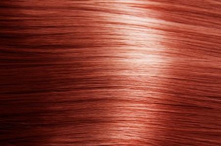 pelo rojo: Textura del pelo rojo Foto de archivo