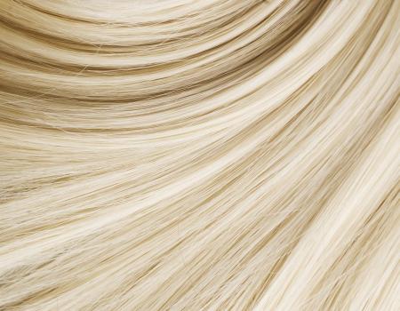 人間の髪の毛: ブロンドの髪のテクスチャ
