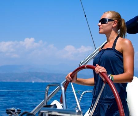 Yacht Sailing photo