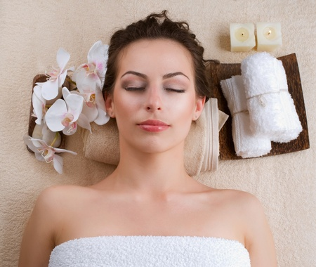 Spa Woman Stock Photo - 12862826